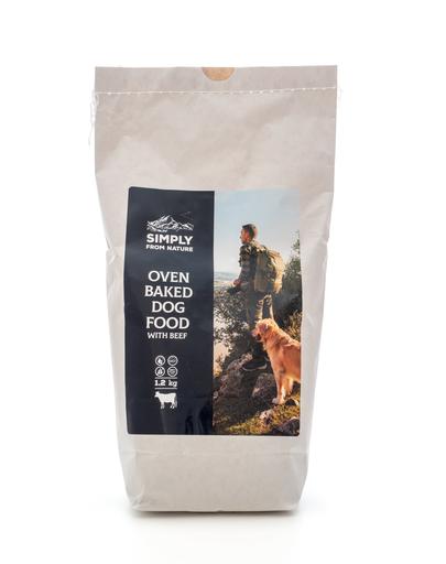 SIMPLY FROM NATURE Hrană uscată pentru câini coaptă în cuptor, cu carne de vită 1,2 kg