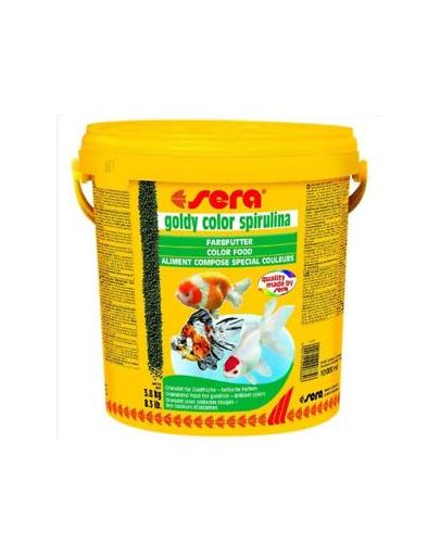 Sera Goldy Color Spirulina granule pentru pestii aurii, 10 l fera.ro