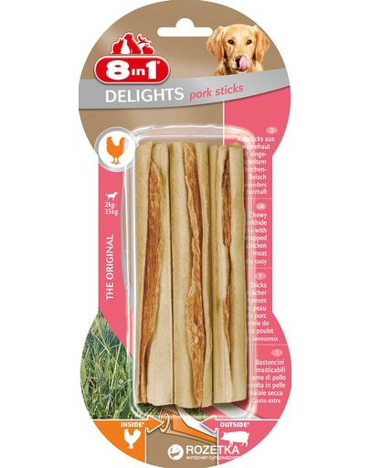 8IN1 Delights - Delicatesă cu aromă de porc 3 bucăți fera.ro