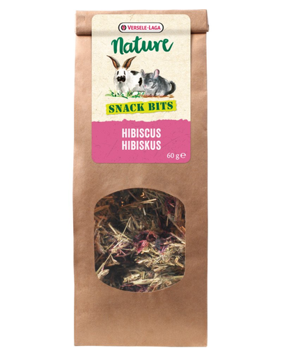VERSELE-LAGA Nature Snack Bits - Hibiscus 60 g fera.ro