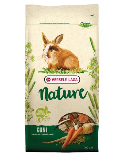 VERSELE-LAGA Cuni Nature - hrană pentru iepuri și iepuri pitici 700 g