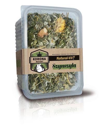 NATURAL-VIT Korona Natury Amestec de plante pentru chinchilla 70 g fera.ro