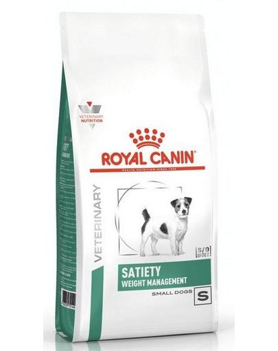 ROYAL CANIN Dog Veterinary Diet Satiety pentru câini de talie mică 500 g fera.ro