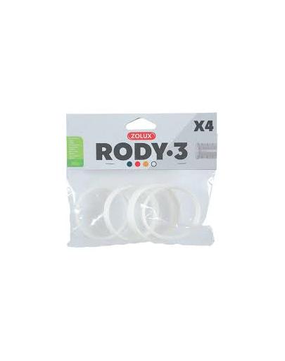 ZOLUX Conector RODY3, 4 buc, alb fera.ro