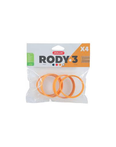 ZOLUX Conector RODY3, 4 buc, galben fera.ro