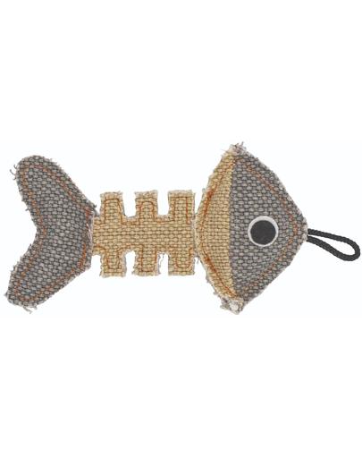 BARRY KING Jucărie Schelet de pește gri / crem 14 x 7,5 cm fera.ro