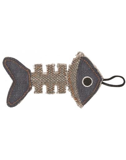 BARRY KING Jucărie Schelet de pește gri / bleumarin 14 x 7,5 cm fera.ro