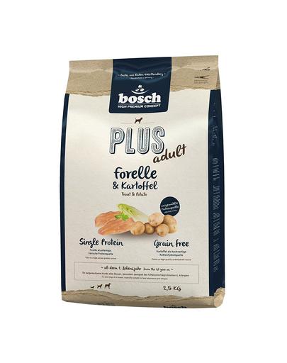 BOSCH Plus păstrăv și cartofi 2.5 kg