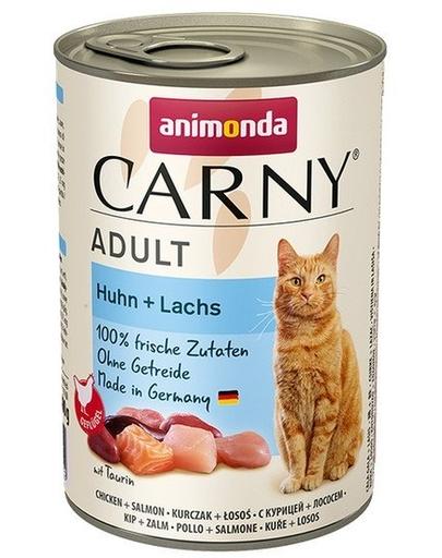 ANIMONDA Carny Adult pui și somon 400 gr