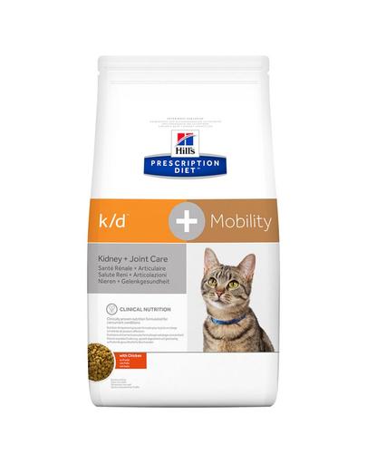 HILL'S Prescription Diet k/d + Mobility Kidney 5 kg fera.ro
