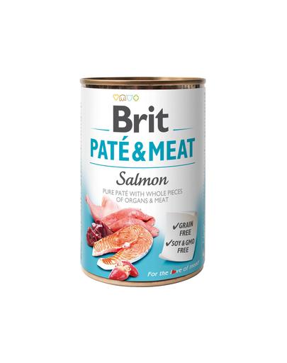 BRIT Pate & Meat Salmon 400g fera.ro