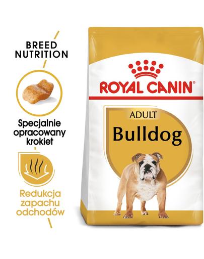 ROYAL CANIN Bulldog Adult Hrană Uscată Câine Adult 3 kg fera.ro