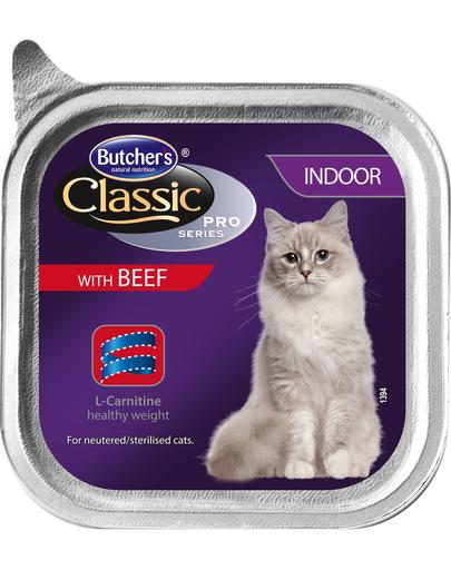 BUTCHER'S Cat Classic Indoor pate cu vită g fera.ro