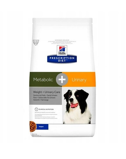 HILL'S PD Metabolic + Urinary Canine 12 kg fera.ro