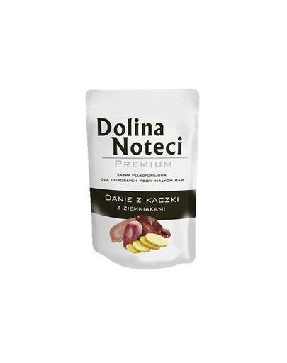 DOLINA NOTECI Premium cu rață și cartofi pentru câini de talie mică 100 gr fera.ro