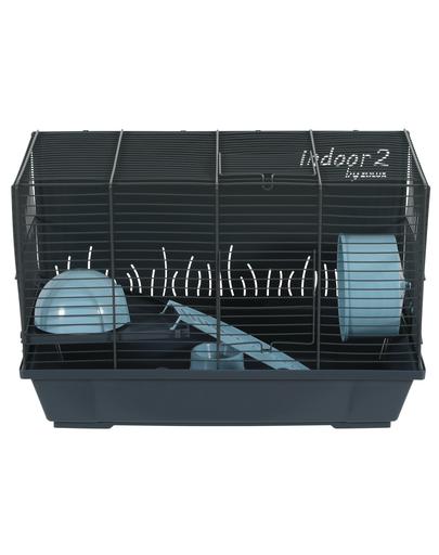 ZOLUX Cușcă pentru hamster INDOOR2 50 albastru deschis fera.ro