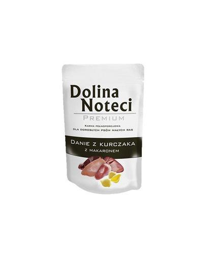 DOLINA NOTECI Premium pentru câini de talie mică, cu pui și paste 100 g fera.ro
