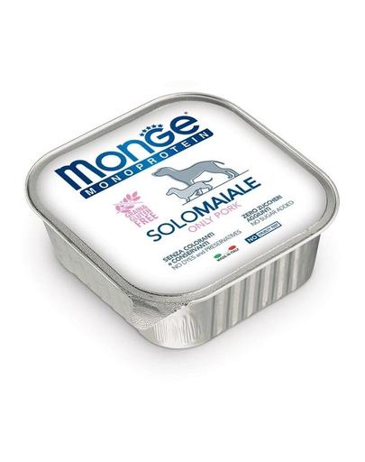 MONGE Dog Monoprotein hrană umedă pentru câini, cu porc 150 g fera.ro