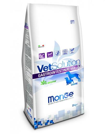 MONGE Vet Solution Dog Gastrointestinal hrană uscată dietetică pentru câini cu probleme gastrointestinale 2 kg fera.ro