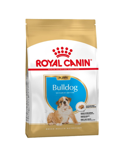 Royal Canin Bulldog Puppy hrana uscata junior, 12 kg fera.ro