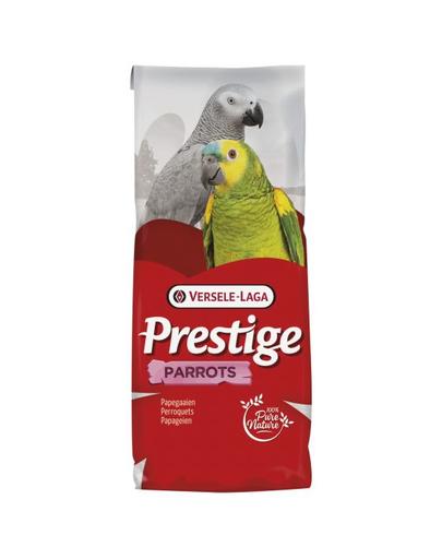 VERSELE-LAGA Prestige Parrots D hrană pentru papagali mari cu conținut ridicat de floarea-soarelui 15 kg fera.ro