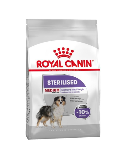 Royal Canin Medium Sterilised Adult hrana uscata caine sterilizat, 3 kg