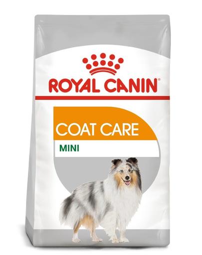 Royal Canin Mini Coat Care Adult hrana uscata caine pentru blana sanatoasa si lucioasa, 8 kg fera.ro