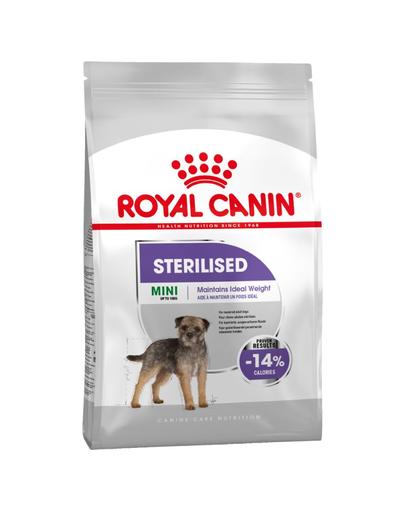 Royal Canin Mini Sterilised Adult hrana uscata caine sterilizat, 8 kg