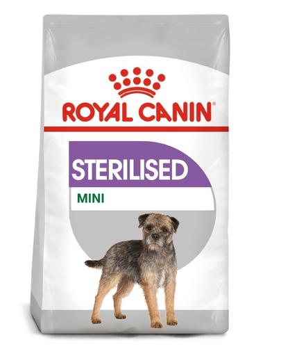 Royal Canin Mini Sterilised Adult hrana uscata caine sterilizat, 3 kg fera.ro