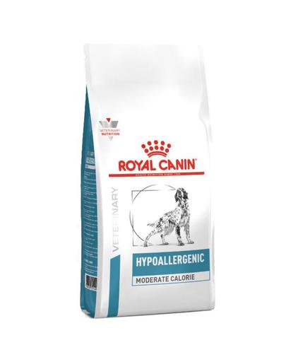 ROYAL CANIN Dog Hypoallergenic Moderate Calorie hrana uscata caini adulti 7 kg