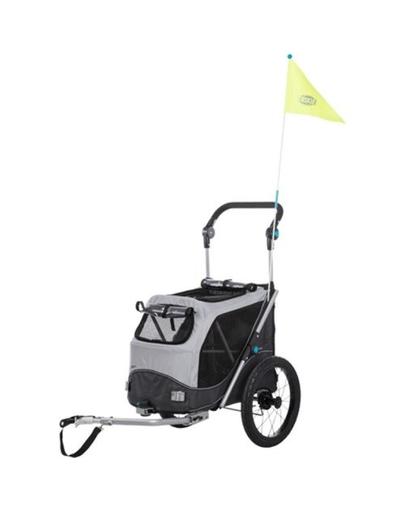 TRIXIE Remorcă pentru biciclete pentru câini S 58×93×74 / 114 cm fera.ro