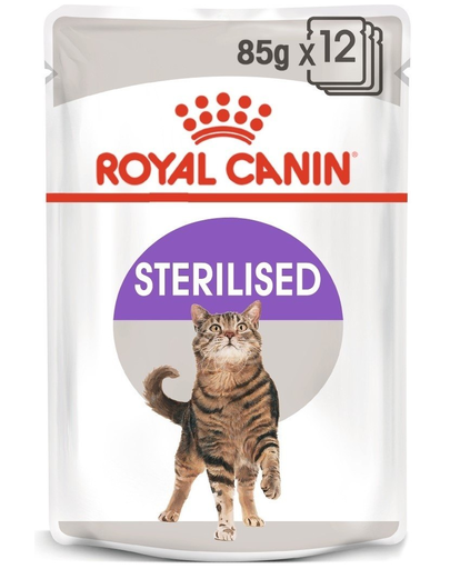 ROYAL CANIN Sterilised în aspic 85 g x12