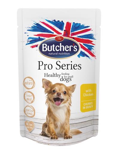 BUTCHER'S ProSeries Dog hrana umeda fara cereale pentru caini talie mica 100 g (3 + 1 GRATIS) fera.ro
