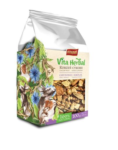VITAPOL Vita Herbal Cicoare uscata pentru rozatoare si iepuri, 100 g fera.ro