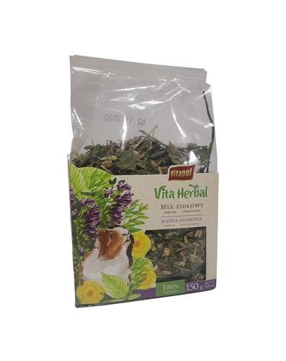 VITAPOL Vita Herbal, amestec din ierburi pentru porcusorul de guineea,150 g fera.ro
