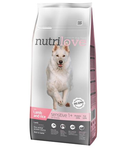 NUTRILOVE Premium cu miel și orez DOG SENSITIVE - 12 kg fera.ro
