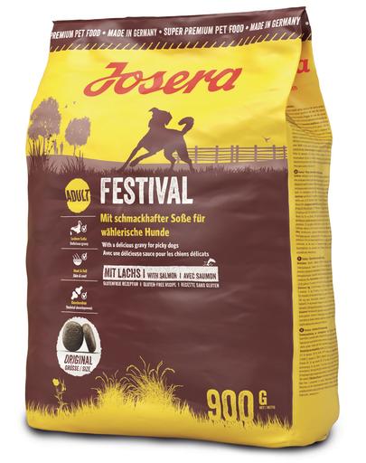 JOSERA Dog Festival hrana uscata pentru caini pretentiosi 5 x 900g (4+1 GRATIS) fera.ro