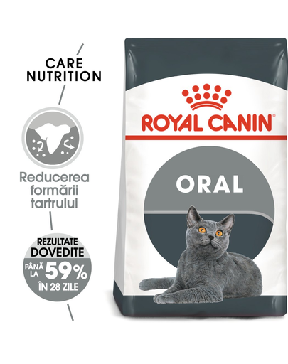 Royal Canin Oral Care Adult hrana uscata pisica pentru reducerea formarii tartrului 16 kg (2 x 8 kg)