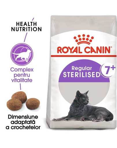 ROYAL CANIN Sterilised 7+ hrana uscata pisica sterilizata senior 20 kg (2 x 10 kg)