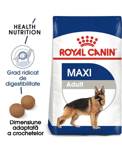 Royal Canin Maxi Adult hrana uscata caine 15 kg + Cadou fera.ro