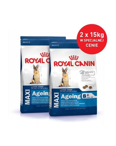 Royal Canin Maxi Ageing 8+ hrana uscata caine peste 8 ani 30 kg (2 x 15 kg)