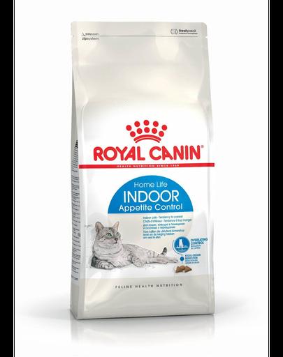 ROYAL CANIN Indoor Appetite Control hrană uscată pentru pisici adulte care stau doar în interior 2 kg