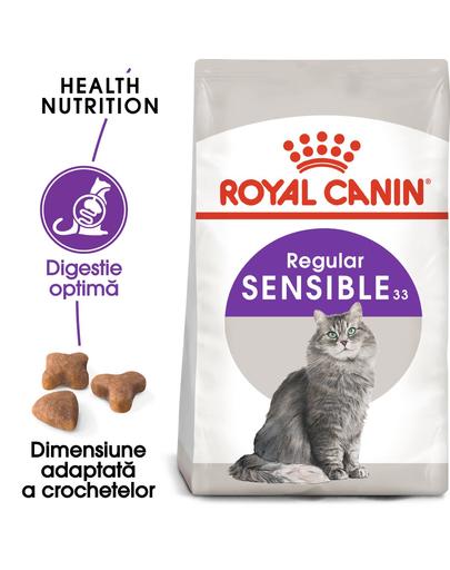 Royal Canin Sensible Adult hrana uscata pisica pentru digestie optima 20 kg (2 x 10 kg) fera.ro