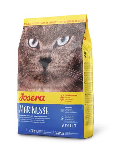 JOSERA Cat Marinesse hrana uscata hipoalergenica pentru pisici sensibile 10 kg + 2 plicuri hrana umeda GRATIS fera.ro