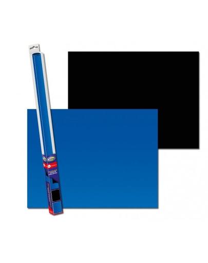 AQUA NOVA Fundal acvariu fata-verso, marime XL, 150x60 cm, albastru / negru fera.ro