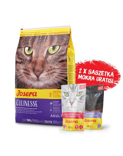JOSERA Cat Culinesse hrana uscata pentru pisici adulte 10 kg + 2 plicuri hrana umeda GRATIS fera.ro