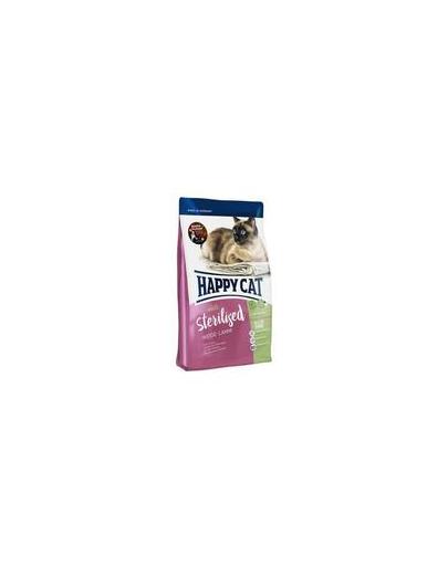HAPPY CAT Supreme Hrana pentru pisici sterilizate, cu miel,10 kg