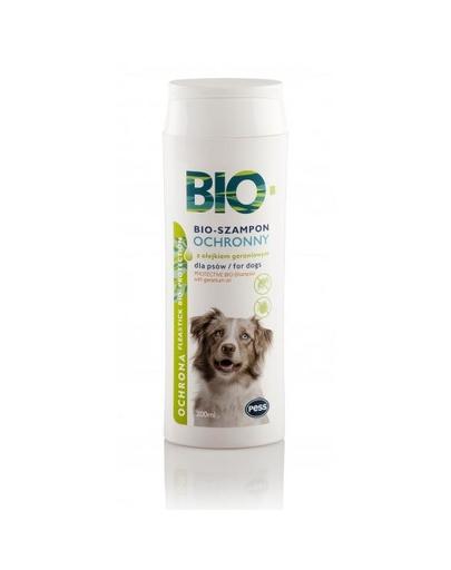 PESS Bio Sampon pentru caini anti-purici si capuse, cu ulei de muscata 200 ml fera.ro