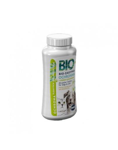 PESS Bio Pulbere protectie impotriva puricilor si capuselor, cu ulei de mucata, pentru caini si pisici 100 g fera.ro