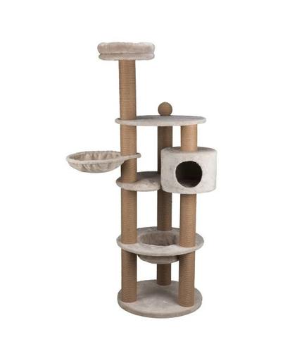 TRIXIE Stalp de zgariat pentru pisici, pe mai multe niveluri, Nigella, 177 cm